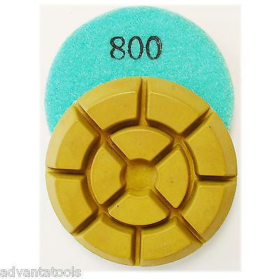 3 Dry Diamond Polishing Pad For Concrete - 800 Grit