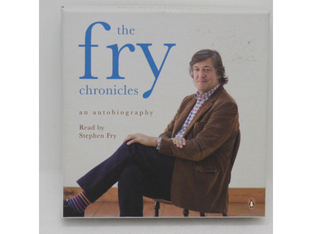 The Fry Chronicles Stephen Fry 11 CD Set Audio Book Read By Stephen Fry Puffin