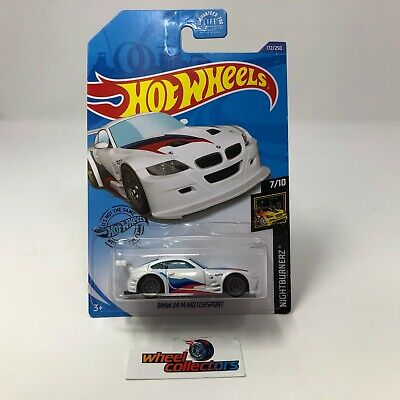 BMW Z4 M Motorsport #172 * White * 2020 Hot Wheels Case J * B30