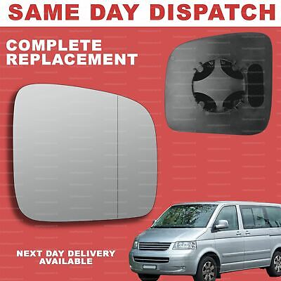 BACKING Caddy WING MIRROR S Transporter T5 PASSENGER SIDE!