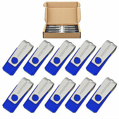 10/20/50 Lot 2GB USB 2.0 Flash Drives Pen Thumb Drive Memory Sticks (2 Gb Blue Usb)