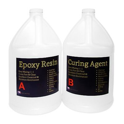 CRYSTAL CLEAR EPOXY RESIN TABLETOP CONCRETE EPOXY RESIN - 2 GALS
