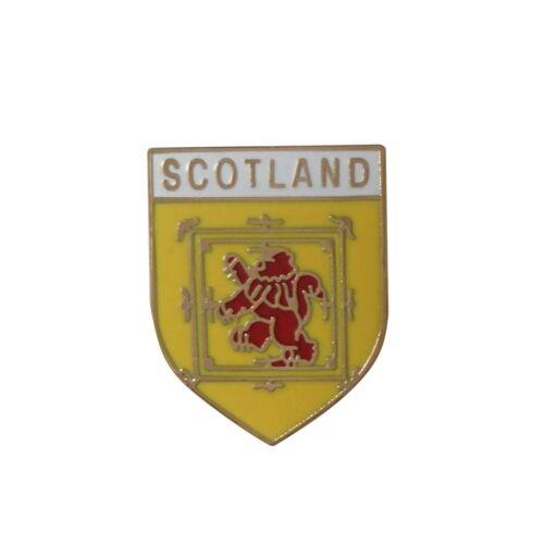 Scotland Lion Rampant Shield Pin Badge