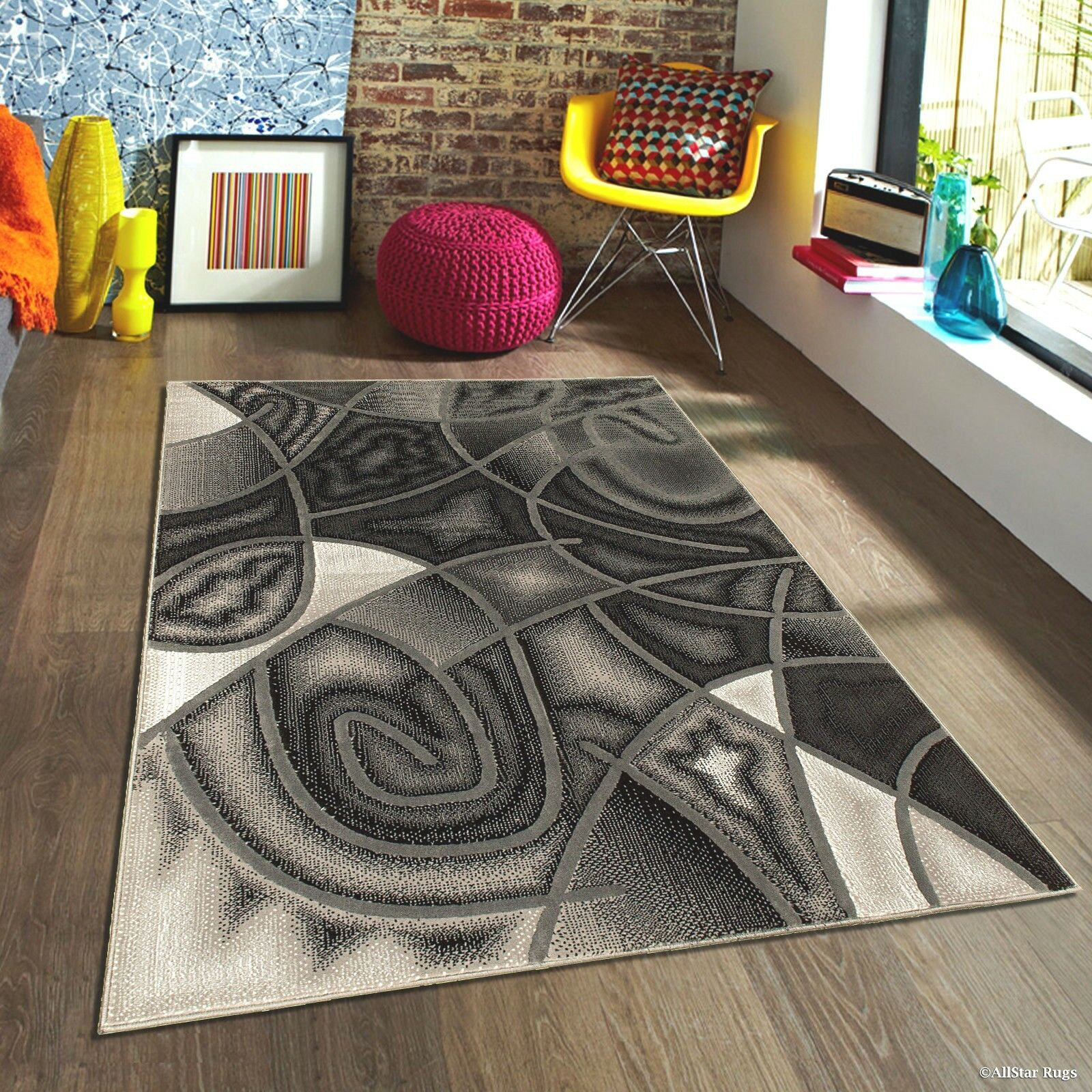 Details About Rugs Area Rugs Carpets 8x10 Rug Modern Large Floor Room Grey Big Gray Cool Rugs