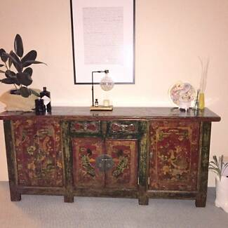 Mongolian Sideboard - purchased for $4,900 (receipt attached) Cammeray North Sydney Area Preview
