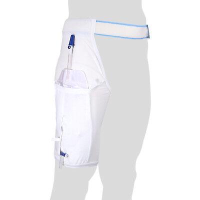 Katheter Größe (Einbeinhose für Beinbeutel - Katheter-Beutel - 3 Größen M/L/XL - Waschbar - GHC)