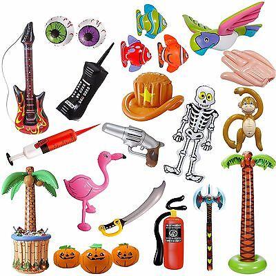 AUFBLASBARE DEKO - Dekoration Tiere Kindergeburtstag Halloween Kinder Party Pool