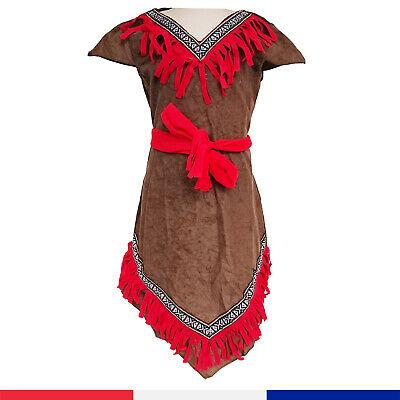 Pocahontas Girl Costume (Indian Native American Princess Pocahontas Outfit Girls Halloween)