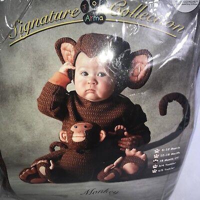 Signature Halloween Costumes (Tom Arma Signature Collection Monkey Halloween Costume 12 18 24 M 4 5)