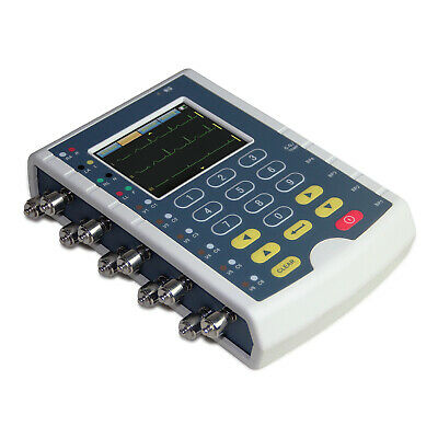 New Portable Multiparameter Patient Simulator Touch Ecg Simulator Contec Ms400