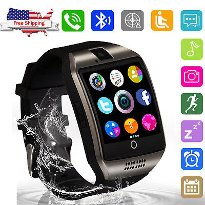 Unlocked Smart Watch Bluetooth Call GSM SIM for AT&T T-Mobile Verizon Cell Phone Cell Phone Watch Verizon