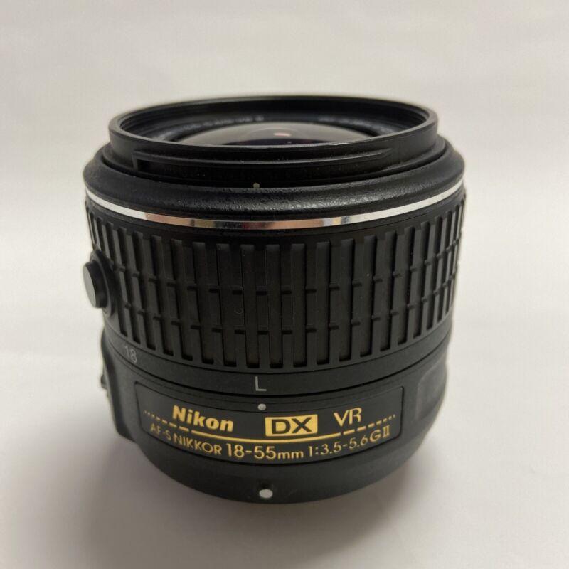 Nikon AF-S DX NIKKOR 18-55mm f/3.5-5.6G VR II. Pre-Owned. Great Condition.