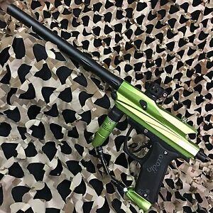NEW Azodin Kaos 2 Mechanical Semi-Auto .68 Cal Paintball Gun Marker - Lime Green