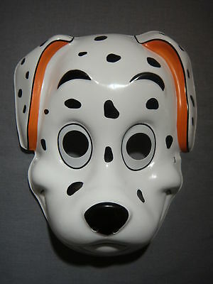 DALMATIAN PUPPY DOG HALLOWEEN MASK PVC NEW CUTE SPOTS POLKA DOTS