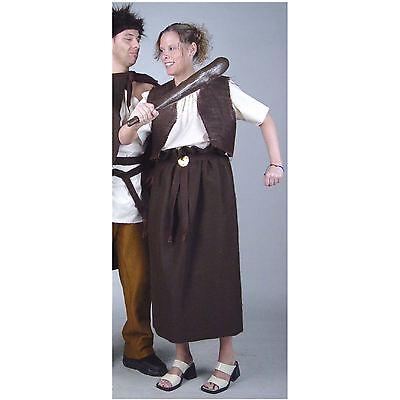 Alte Germanin Kostüm Gr. 38 - 50 XL - Mittelalter Magd Kostüme