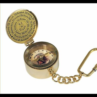 Jerusalem compass gold