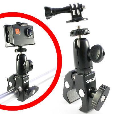 scozzi® 360° Kamerahalterung Action Cam Fahrrad Motorrad Kamera Halterung Halter