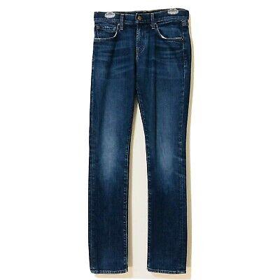 J BRAND TYLER SKINNY SLIM FIT MEN'S DESIGNER BLUE JEANS PARKER US SIZE 30x (Us Designer Brands)