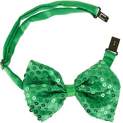 St. Patricks Day Glitzer Fliege Accessoires Irland Karneval - St Patricks Party