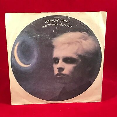 """TUBEWAY ARMY Are 'Friends' Electric? 1979 UK 7"""" Vinyl Single EXCELLENT CONDITION"""