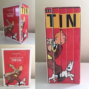 Tintin DVD Box Set (In French)