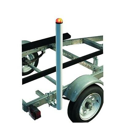 """CE Smith 27740 Lighted Post Style Boat Trailer Guides 40"""""""