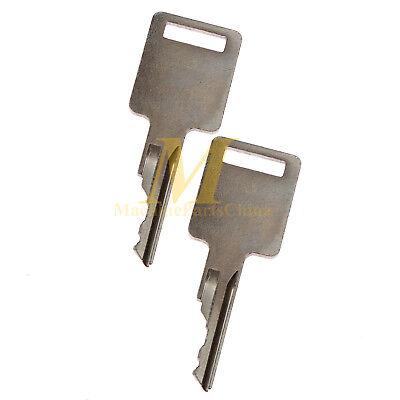 2 Ignition Key For Bobcat S450 S510 S530 S550 S570 S650 S630 S750 S770 S850