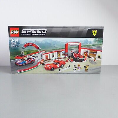 LEGO 75889 SPEED CHAMPIONS FERRARI ULTIMATE GARAGE   **BRAND NEW & SEALED**