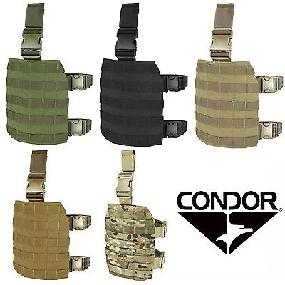 - Condor MA1 Tactical MOLLE PALS Modular Webbing Quick Release Drop Leg Rig Panel