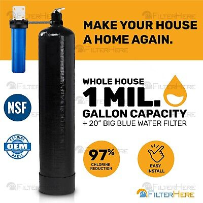 Whole House Home Water Filtration System (1 Mil. Gal. -