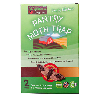 Pantry Moth Traps 2 Complete Traps Flour Moths Bird Seed Moths Pet Food Moths