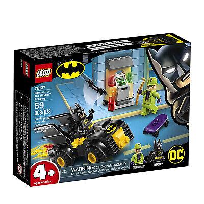 LEGO® Batman Vs The Riddler Robbery Building Set 76137 NEW