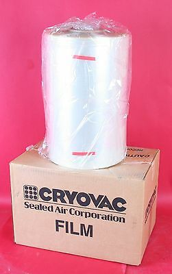 Cryovac Uline Heat Shrink Wrap Single Ply Film 50 Ga 14.5 8750 Ft Polyolefin