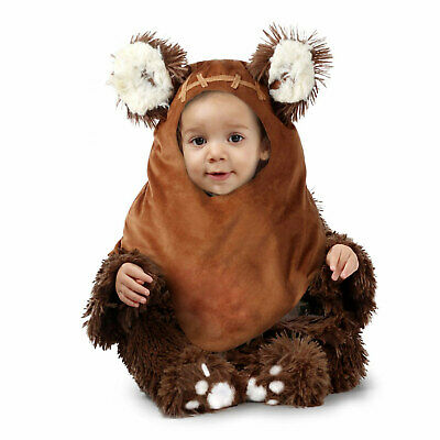 Disney Star Wars Infant Plush Ewok Wicket Halloween Costume Baby Family Group