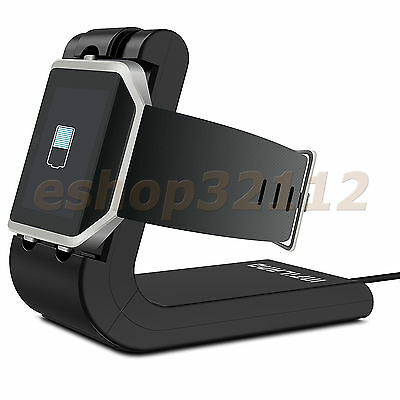 USB Charging Cradle Cable Dock Station Holder Charger For Fitbit Blaze Watch