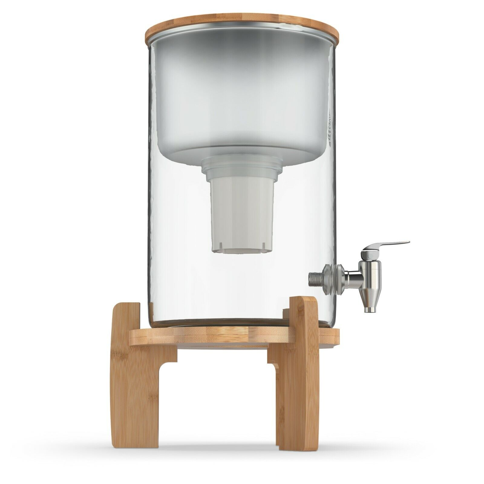 INVIGORATED WATER - pH RECHARGE Glass Alkaline Water Filter