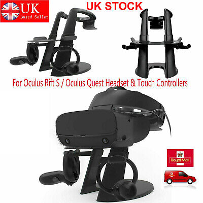 AMVR VR Display Stand Holder For Oculus Rift S/Quest VR Headset Touch Controller
