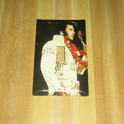 ELVIS PRESLEY THE KING OF ROCK LEGEND Light Switch Cover Plate