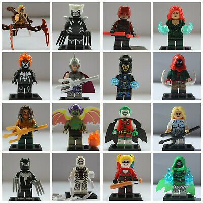Marvel Super Heroes lego Batman Mini Figures Venom Spiderman Avengers Endgame