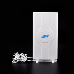 Indoor Blazing Fast 3G 4G 88dBi LTE MIMO Antenna 700MHz-2600MHz 2M TS-9 Wire UE