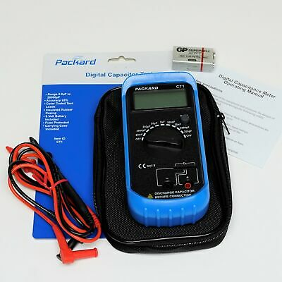 Ct1 Digital Capacitor Test Tester Meter 2 - 2000 Mfds