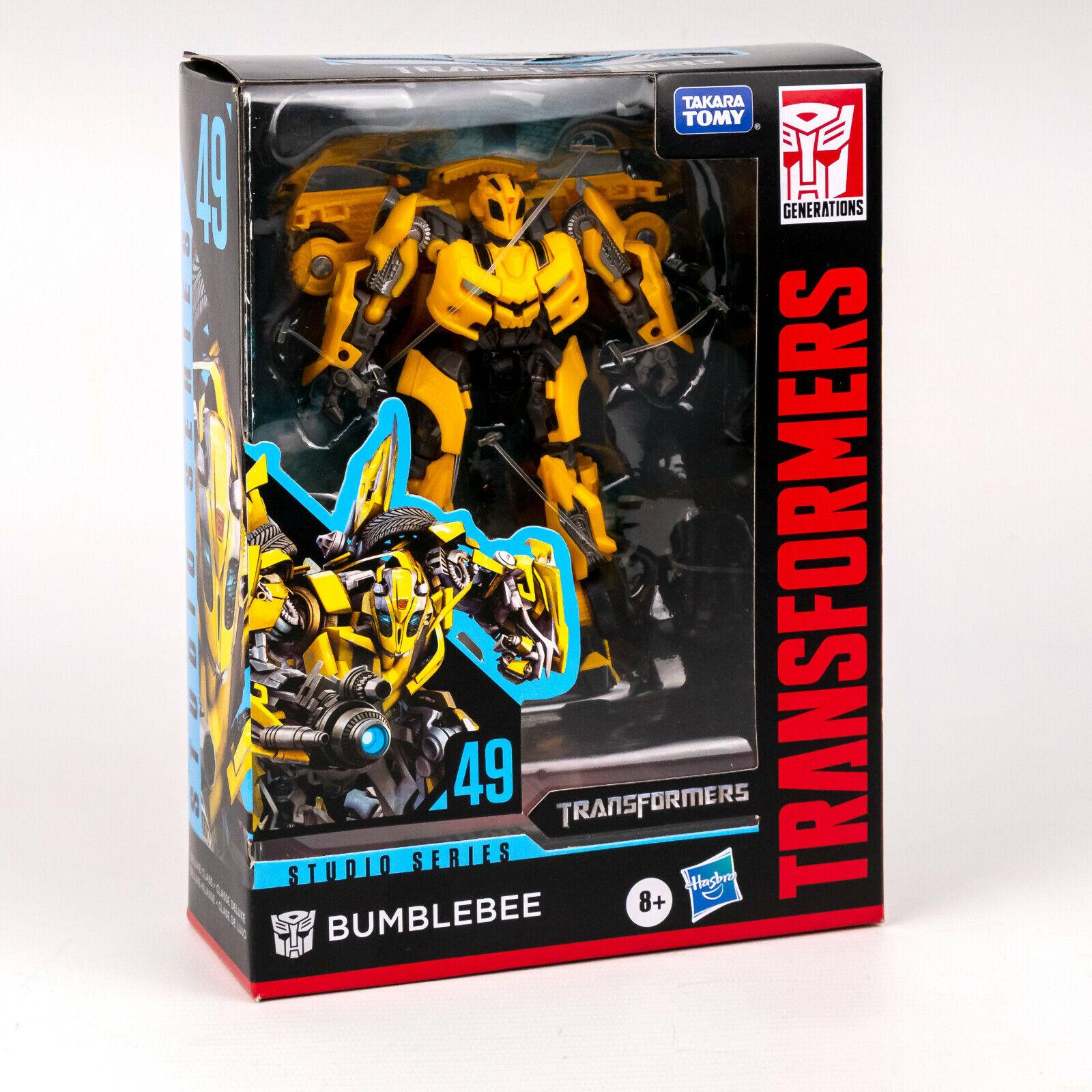 Transformers Actionfigur Bumblebee E7195 Studio Series 49 Deluxe Class