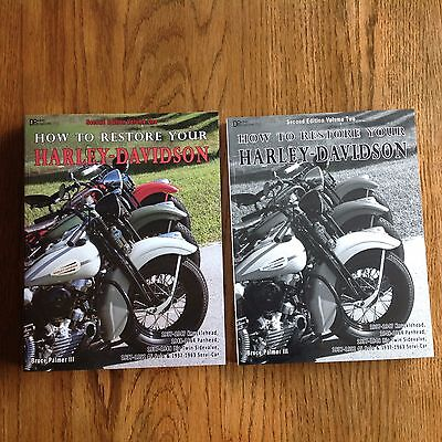 HOW TO RESTORE YOUR HARLEY-DAVIDSON 2ND EDITION BY BRUCE PALMER III 2 VOL SET