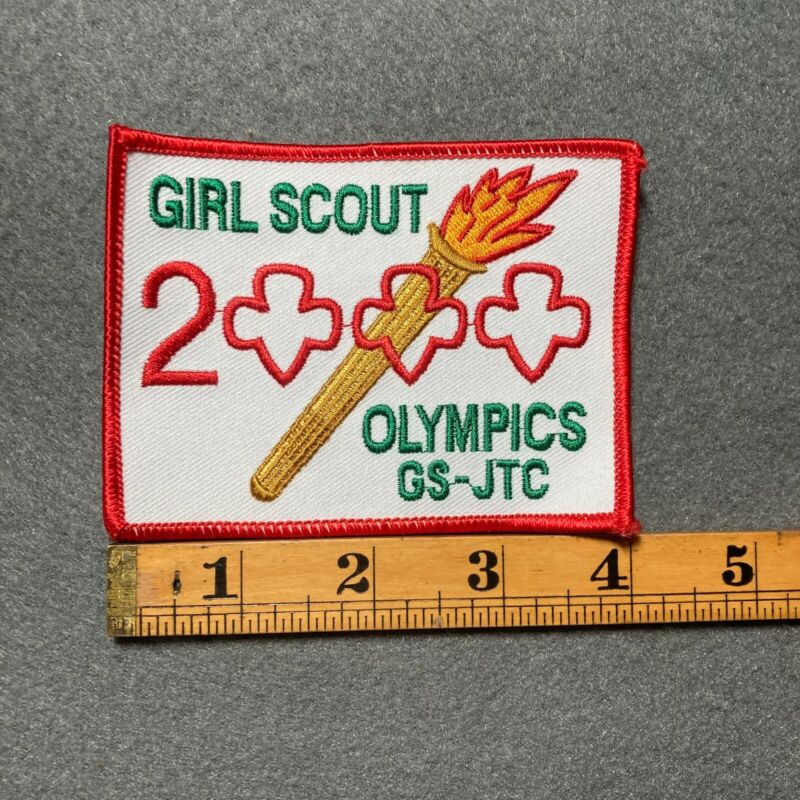 Girl Scout 2000 Olympics GS-JTC Patch F3