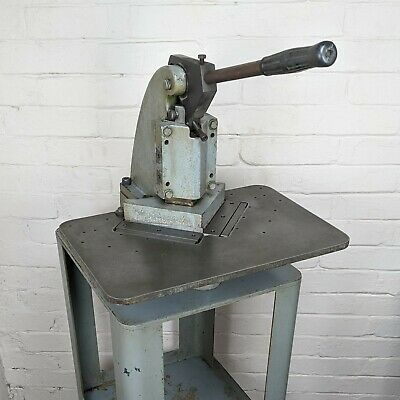 Di-acro No. 1 Sheet Metal Corner Notcher W Stand - 6 X 6 - Usa 16ga Will Ship