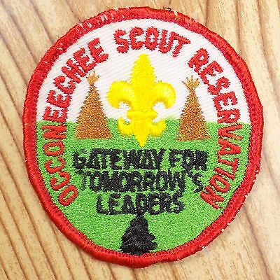 Vintage Boy Scout Patch Badge Occoneechee Council Reservation BSA Leaders