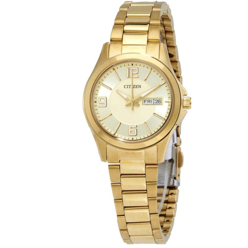 Citizen-Gold-Dial-Quartz-Ladies-Watch-EQ0593-51P