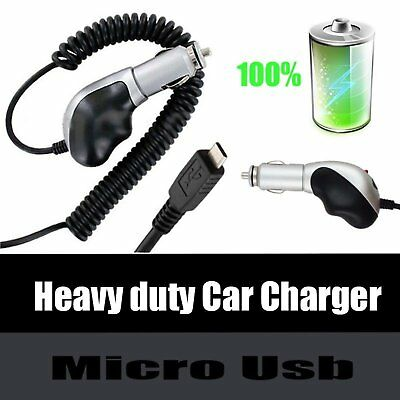 Premium Heavy Duty Turbo Micro USB Car Charger For Mophie Juice Pack Battery Battery Heavy Duty Car Charger