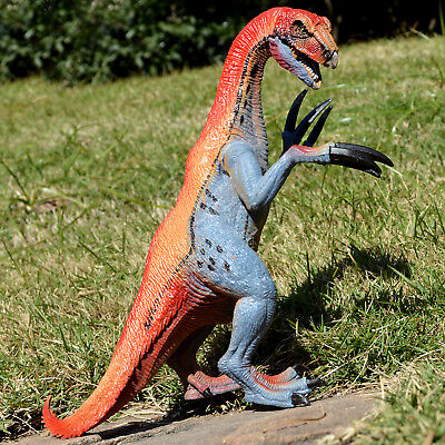 Realistic Dinosaur (Large Therizinosaurus Model Birthday Gift For Kids Realistic Dinosaur Figure)