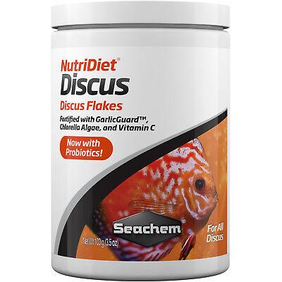 Fish Food Flakes Seachem NutriDiet Discus 100 gram 3.5 oz FAST FREE USA SHIPPING